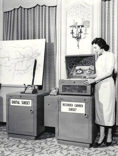 Modem AT&T, 1958